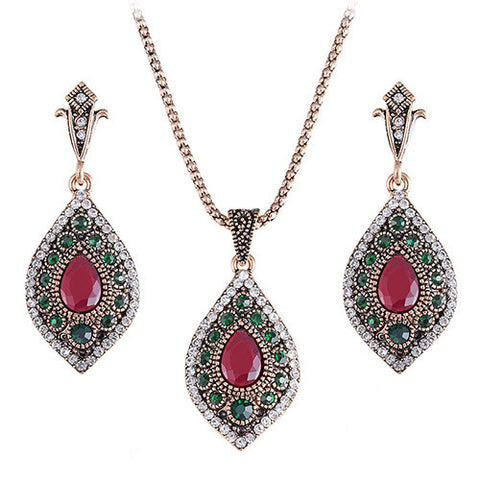 Turkish Necklace and Earrings (10 Styles)