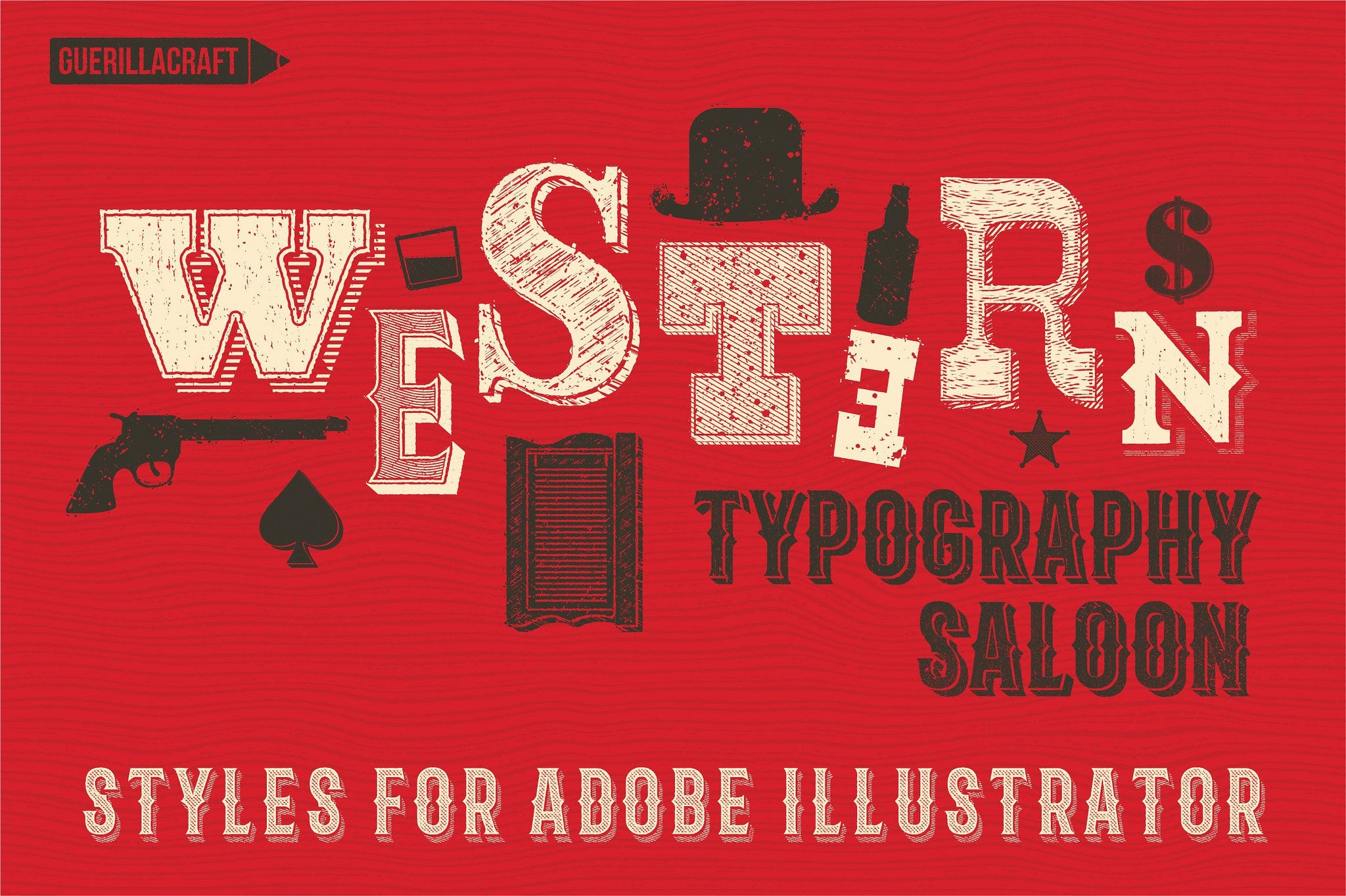 Western Typography Saloon