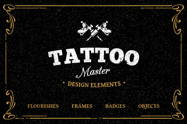 Tattoo Elements 1 - Retro Mart