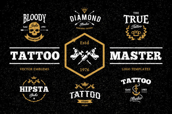 Tattoo Master Pack - Retro Mart