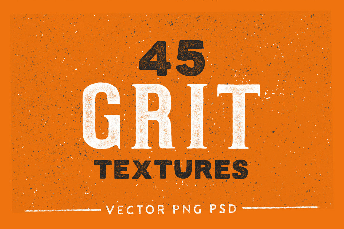 45 Heavy and Subtle Grit Textures - Retro Mart