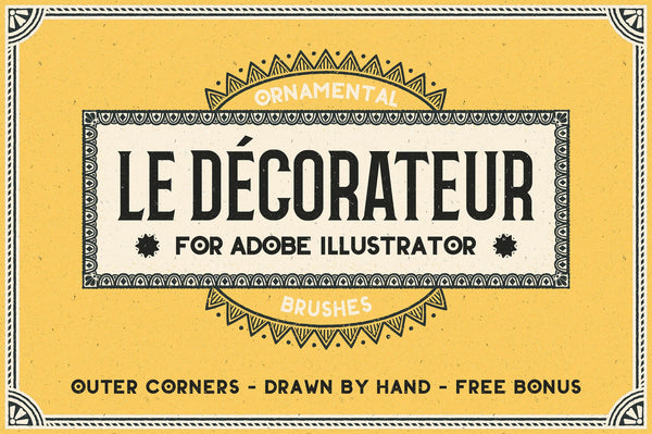 Le Decorateur Ornamental Brushes