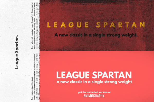 League Spartan - Retro Mart