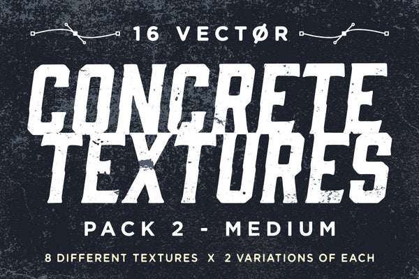 Vector Concrete Textures | Pack 2