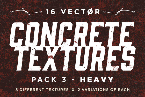 Vector Concrete Textures | Pack 3