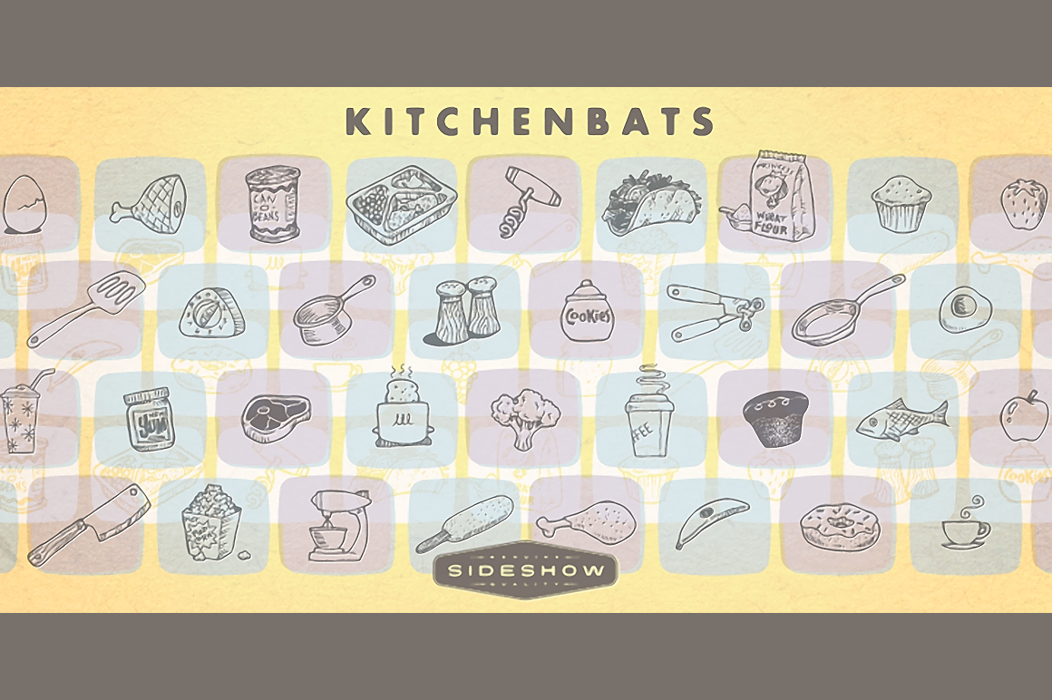 Kitchenbats - Retro Mart