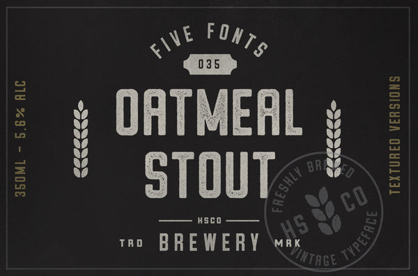 Oatmeal Stout - Retro Mart