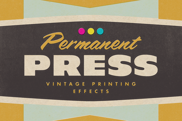 Permanent Press 2 - Retro Mart