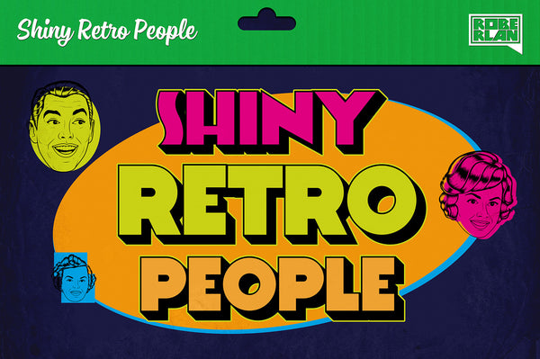 Shiny Retro People