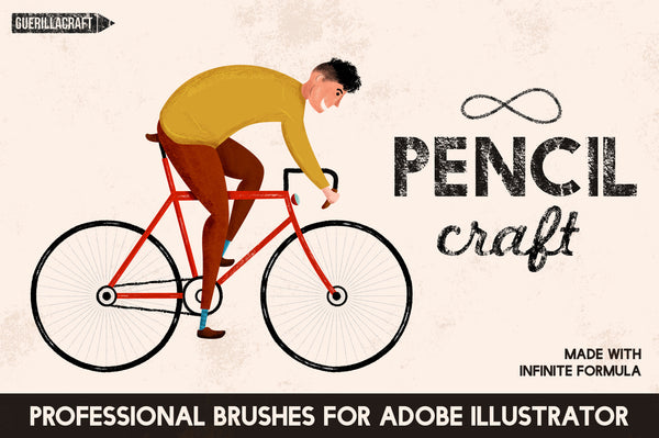 Pencilcraft Brushes - Retro Mart