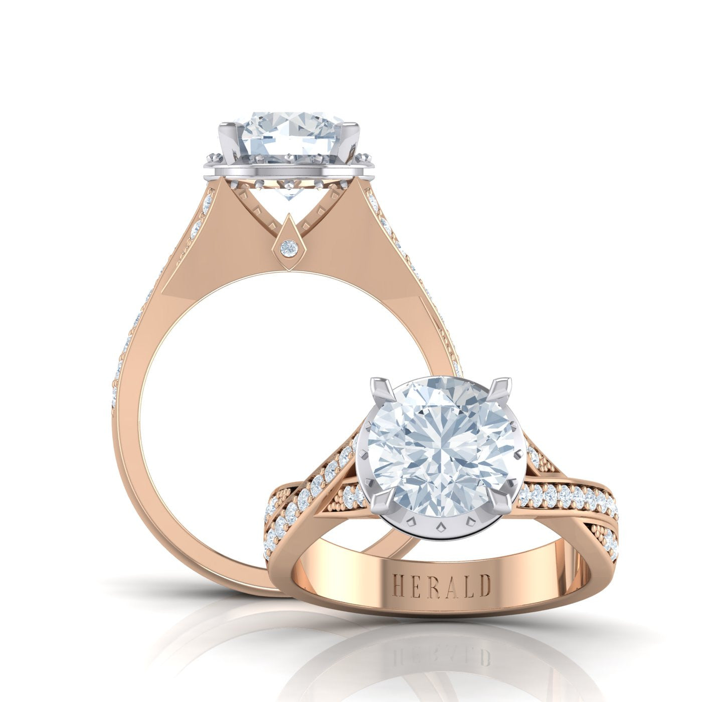 Round Brilliant Diamond Engagement Ring