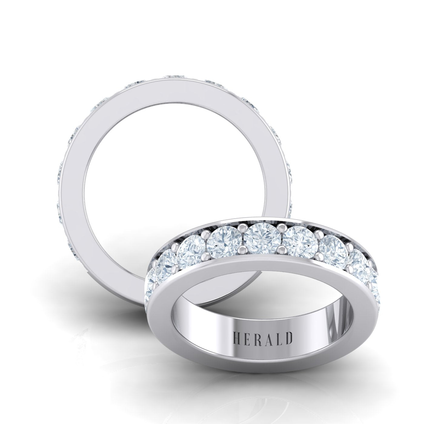 Herald diamond eternity ring