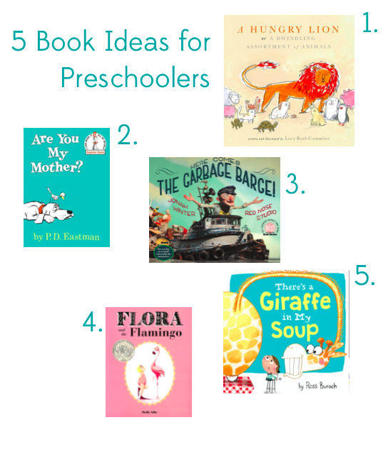 5 Great Children's Book Gift Ideas for Preschoolers