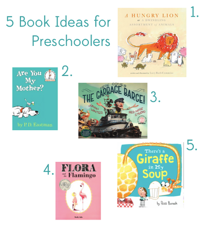 5 book gift ideas for three year old