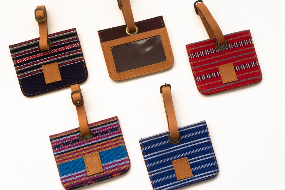 Marawi (Red) Bag Tag - Woven Crafts