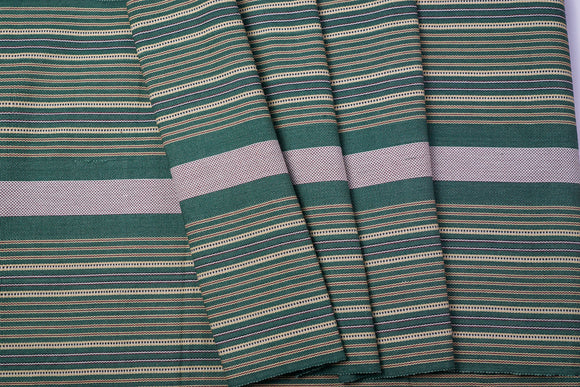 Olive Green Cotton Fabric - Woven Crafts