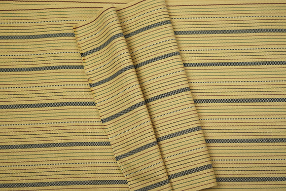 Pastel Yellow Cotton Fabric - Woven Crafts
