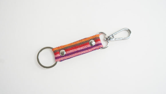 Marawi Red Keychain - Woven Crafts