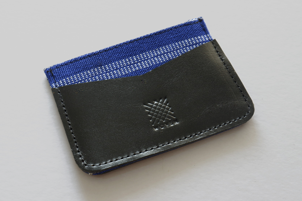 Banaue Leather Card Holder