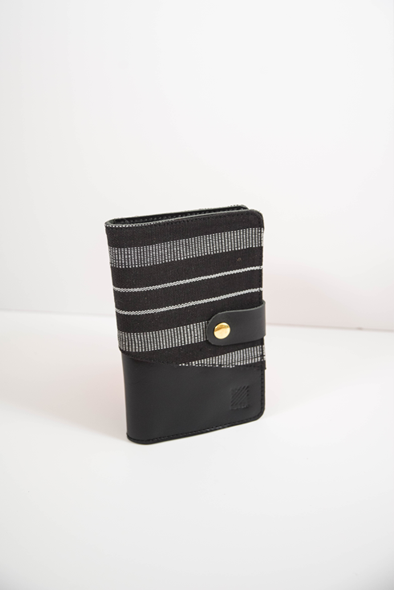Lakbay Wallet Black - Woven Crafts