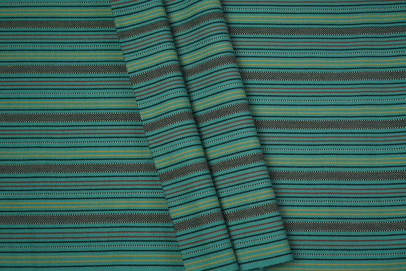 Emerald Green Cotton Fabric - Woven Crafts