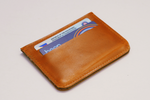 Marawi Leather Card Holder - Woven Crafts