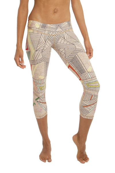 Niyama Sol Aztec Beachcomber Legging - Sculptique