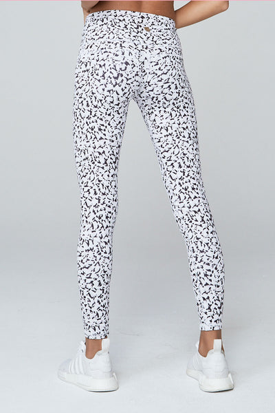 Varley Biona Tight - Abstract Petal Print - Sculptique
