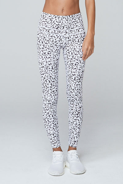 Biona Tight - Abstract Petal Print