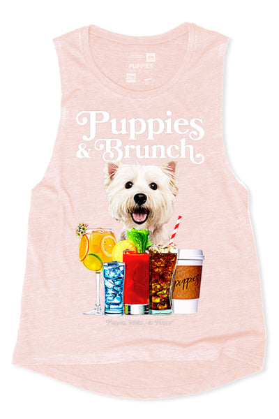 Puppies & Brunch Muscle Tank