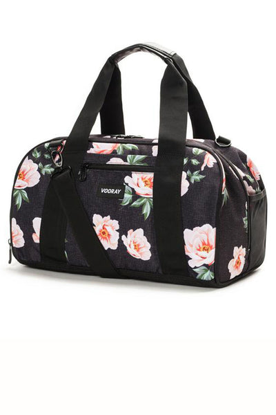 Vooray Burner Gym Duffel - Rose Black - Sculptique