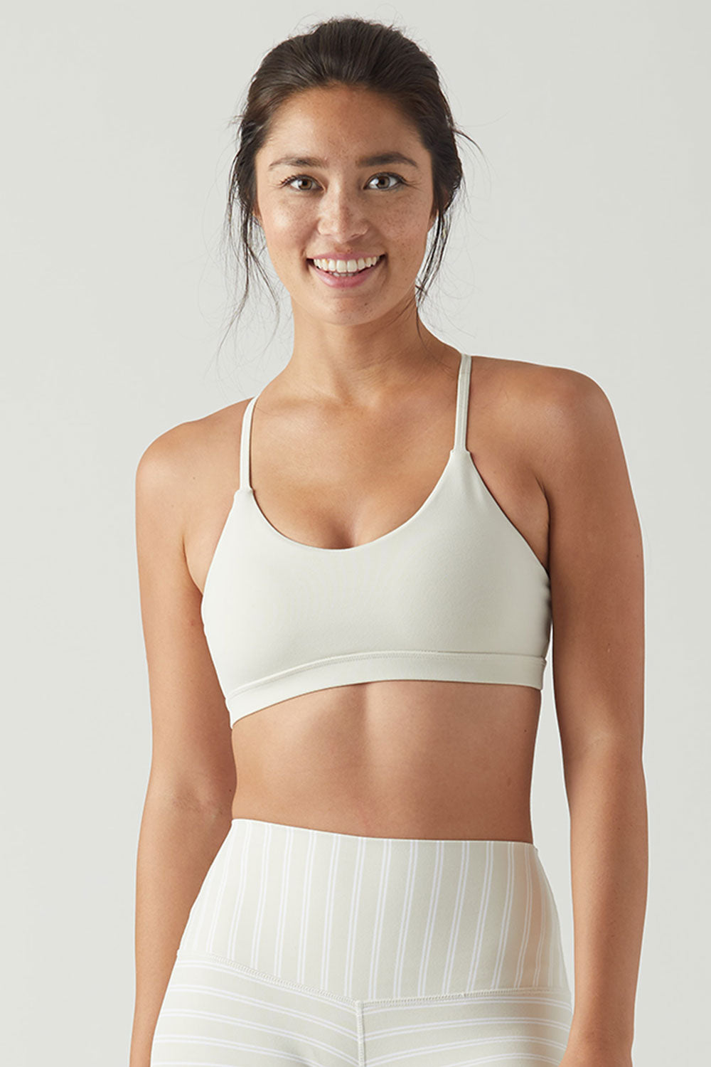 3a89f7a6d2 Glyder Energy Bra in Creme