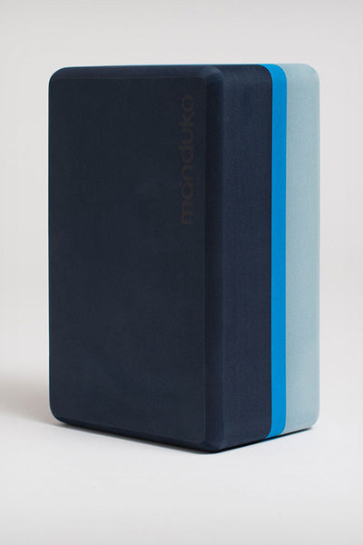 Manduka Recycled Foam Yoga Block - Cueva Azul - Sculptique