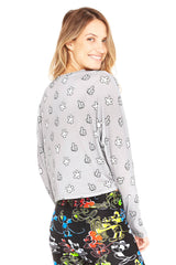Give A Hand To Mickey Mouse Sweater