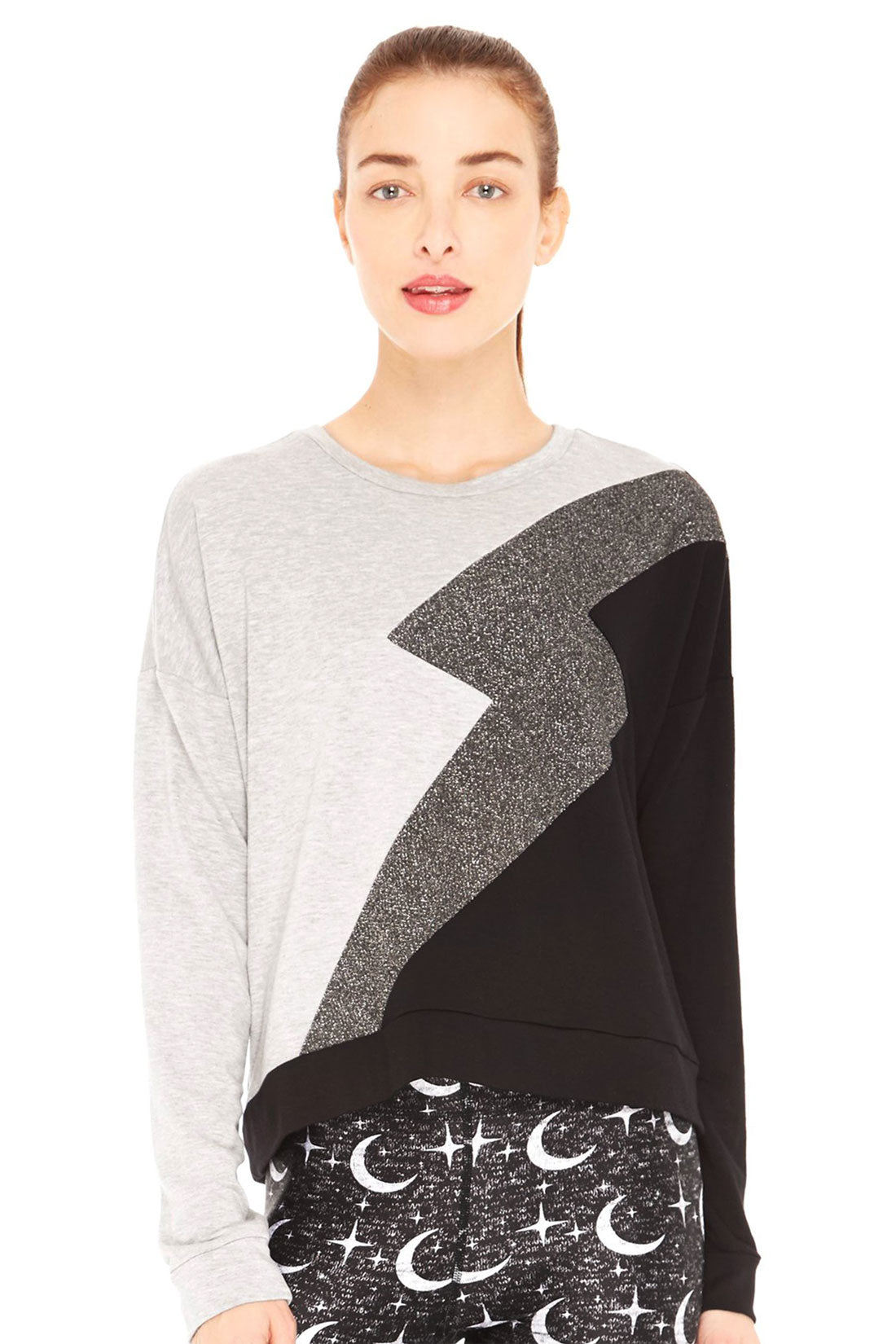 Lightning Bolt Crewneck