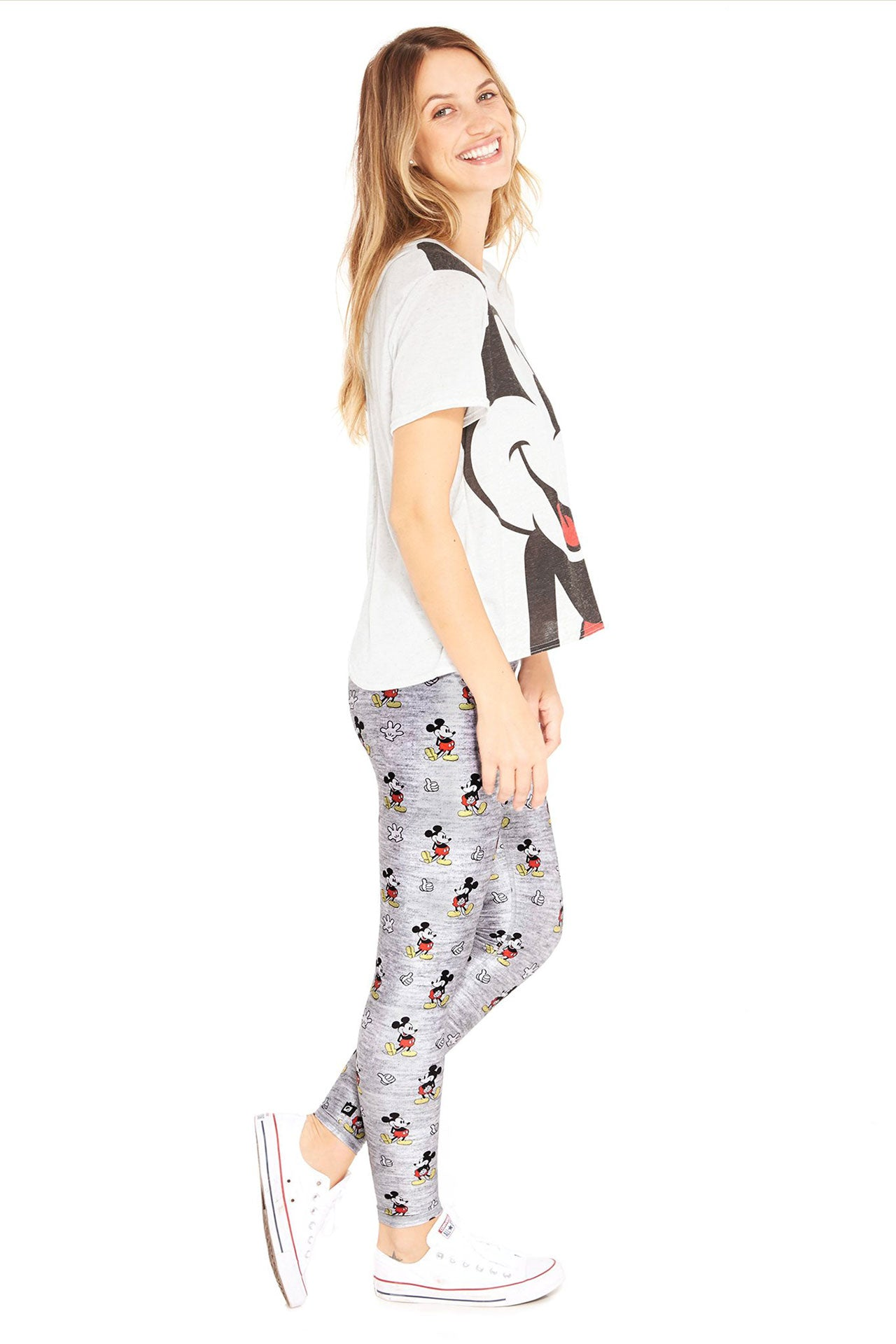 Heathered Mickey Tall Band Legging