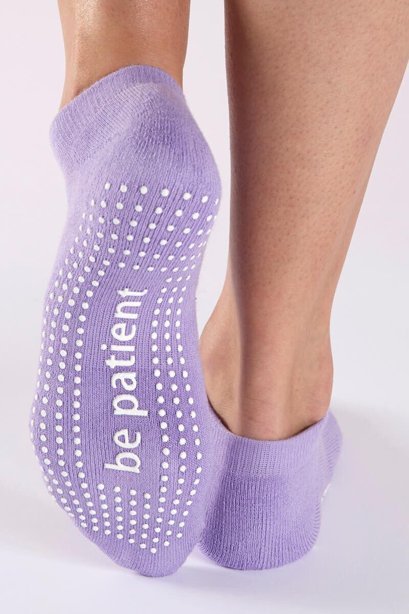 Sticky Be Socks Be Patient Grip Socks - Sculptique