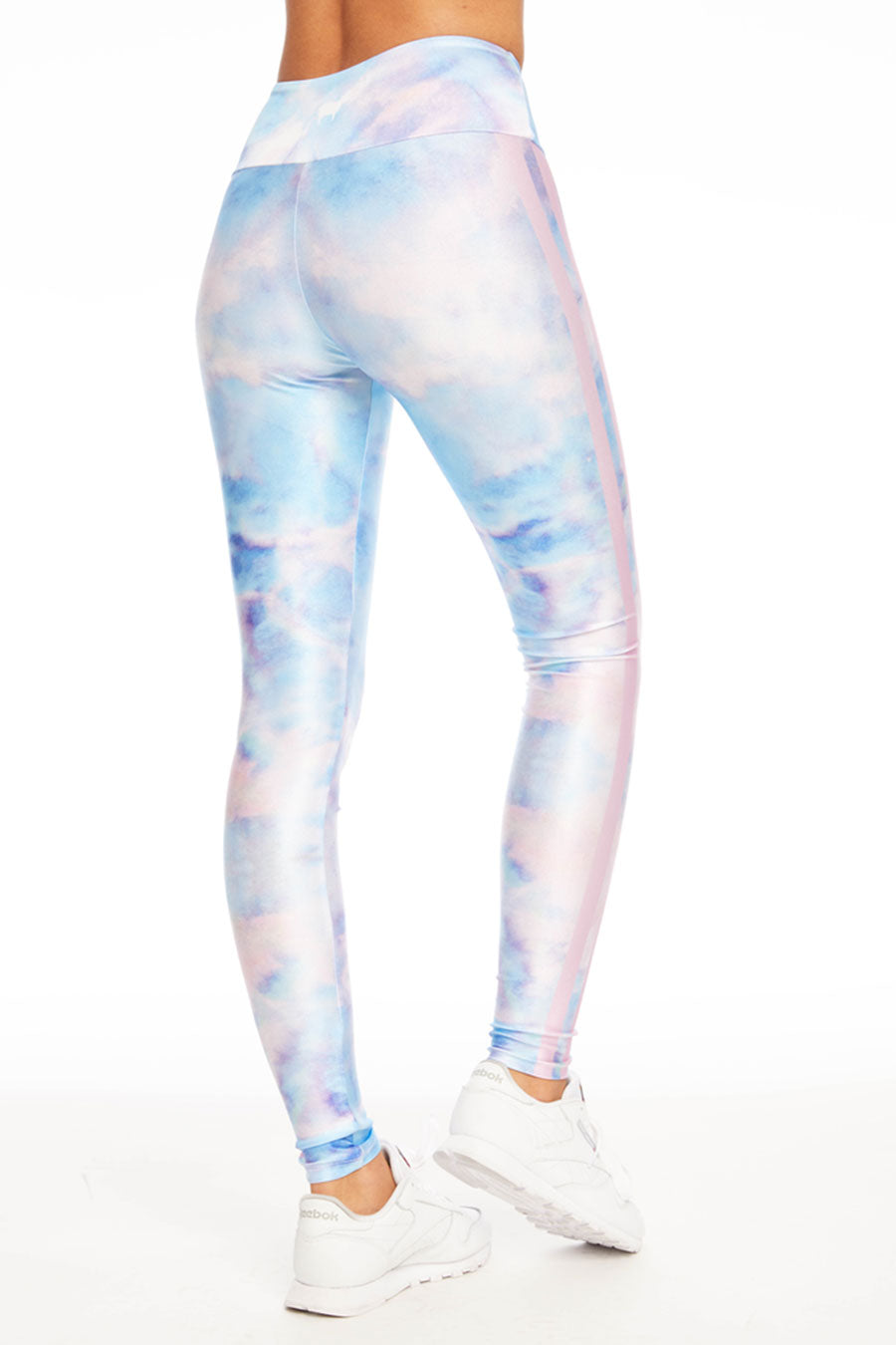 Iridescent Paper Long Legging
