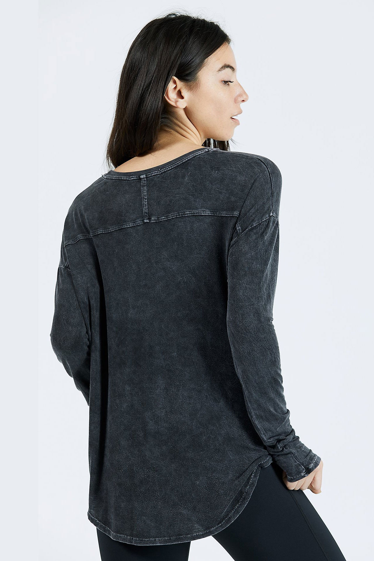 Limitless Long Sleeve - Wash Graphite