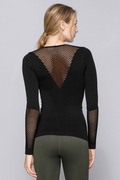 Alala SEAMLESS LONG SLEEVE TEE - Sculptique