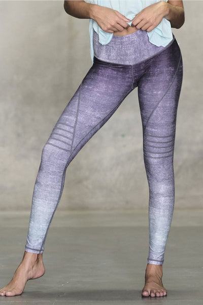 Purple Rain Slice Legging
