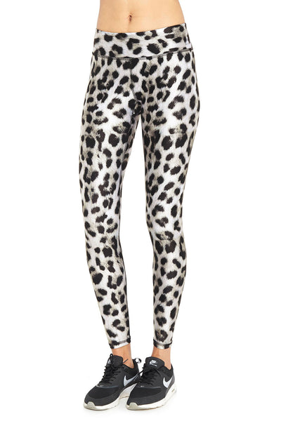 Snow Leopard Tall Band Legging