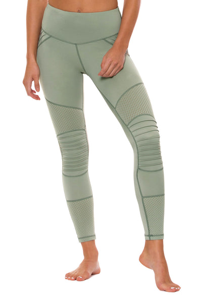 Above The Clouds Legging - Mint