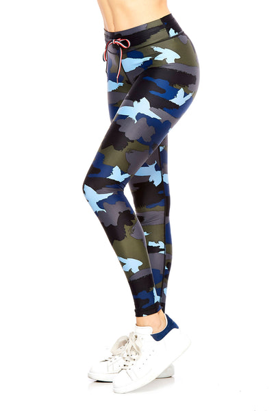The Upside Abstract Camo Yoga Pant - Sculptique