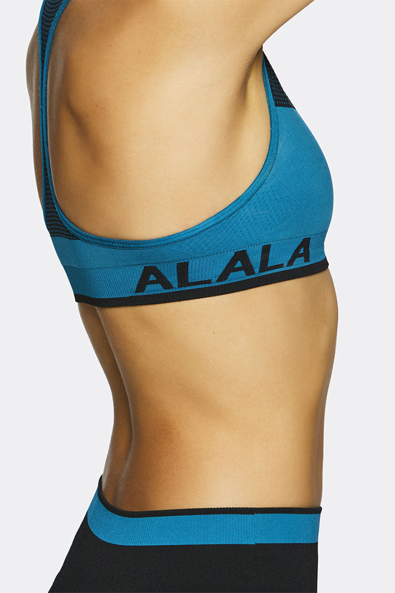 Alala Ace Seamless Bra - Lagoon - Sculptique