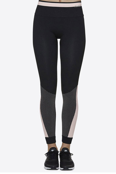 Alala Ace Seamless Tight - Black/Rose - Sculptique