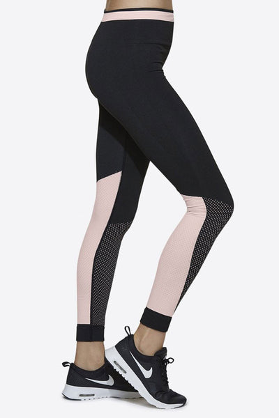 Ace Seamless Tight - Black/Rose