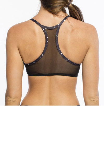 Chill by Will Admire Bra- Black Dot - Sculptique
