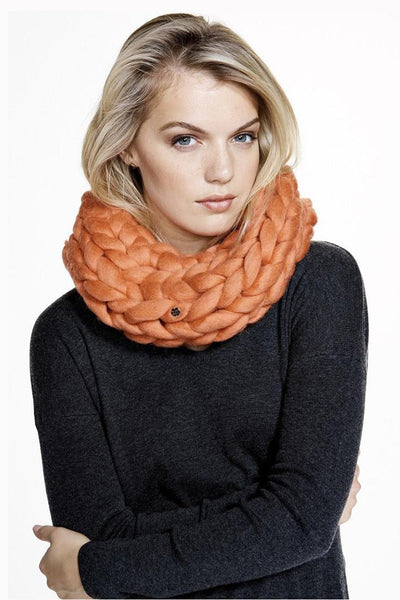 Alpine Snood - Orange