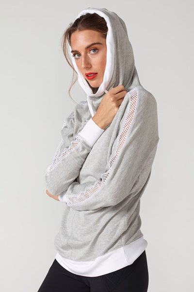 Chichi Active Audrey Sweatshirt - Sculptique